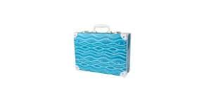 Handarbeitskoffer Ocean blue Produktbild