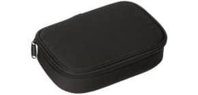 Schüleretui groß schwarz DONAU 6778002-01 oval  1-Stock Produktbild