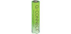 Batteria alcalina Q-Connect Micro 1.5 V AAA LR03 conf. da 4 - KF00488 Immagine del prodotto