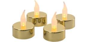 Teelichter LED 4 Stück ProduktbildEinzelbildM