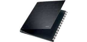 Pultordner Karton 1-12 schwarz Produktbild