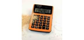 Tischrechner staubge. orange Produktbild