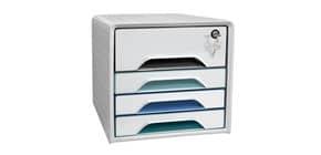 Schubladenbox Smoove 7-311 S weiß/mint Produktbild