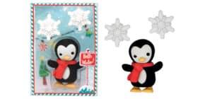 Figurenradierer Pinguin & Schneeflocke TRENDHAUS 946195 Collection  Produktbild