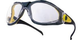 Occhiali Delta Plus Pacaya Clear monoblocco policarbonato nasello integrato trasparente PACAYBLIN Immagine del prodotto