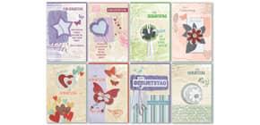 Geburtstagskarte Soft Nature 1  sortiert 51-2729  8 Motive Produktbild