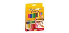 Astuccio matite colorate KOH-I-NOOR Legno 36pz - DH3336 Immagine del prodotto