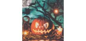 Motivserviette 33x33cm Halloween HOME FASHION 211938 Produktbild
