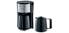 Kaffeemaschine schwarz/silber SEVERIN KA 9253 2 Kannen Produktbild