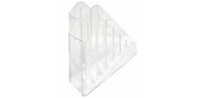 Portariviste ARDA Classic polistirolo antiurto cristallo 7,5x27x29,5 cm TR4118CR Immagine del prodotto