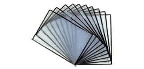 Buste per leggio Tarifold® STERIfold A4 per leggio T-Technic nero Conf. 10 pezzi - 114507 Immagine del prodotto