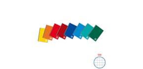 Blocco spiralato One Color laterale in cartoncino con fogli microperforati 80 g/m² quadretti 5 mm A5 16,2x21 cm - 1148 Immagine del prodotto