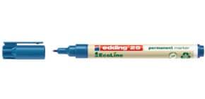 Permanentmarker EcoLine blau /1mm EDDING 25-003 Produktbild