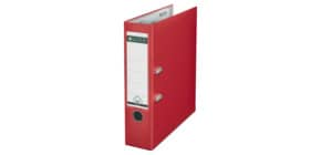 Registratore senza custodia Leitz 180° commerciale dorso 8 cm cartone rivestito in polipropilene rosso - 10105025 Immagine del prodotto