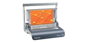 Rilegatrice a dorsi plastici FELLOWES Quasar+ 500 capacità di perforazione 25 fogli - 5627701 Immagine del prodotto