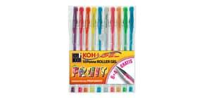Penne gel colori profumati KOH-I-NOOR 0,7mm assortiti conf.10 - NAGP10F Immagine del prodotto