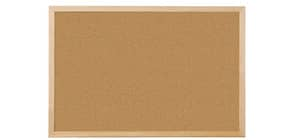 Pannello in sughero Q-Connect 120x90 cm con cornice in legno CA0516170 Immagine del prodotto
