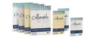 Carta pergamena FAVINI Calligraphy per lettere da stampare, finitura liscia 190 g/m² A4 crema 05  50 fogli - A692084 Immagine del prodotto