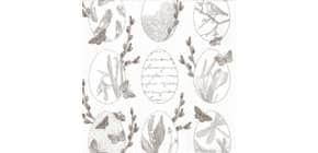 Osterserviette Zelltuch Eier HOME F. 211619   33x33 cm Produktbild