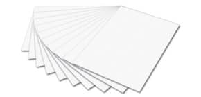Tonpapier  50x70 cm weiß ProduktbildSingle ImageM