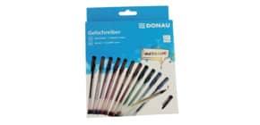 Gelschreiber 12ST Metallic DONAU 5110200-99 Produktbild