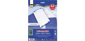 Leinen Papier A4 120g 50BL TOPPOINT 40785 Bewerbungspapier Produktbild