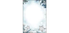 Weihn.Design Papier 25BL Snow Star Produktbild
