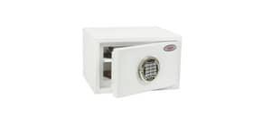 Cassaforte Phoenix bianco - Ral 9003 con serratura elettronica. 7 lt. SS1181 E Immagine del prodotto