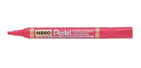 Marcatore permanente Pentel N860 punta a scalpello 4.5 mm rosso N860-BE Immagine del prodotto