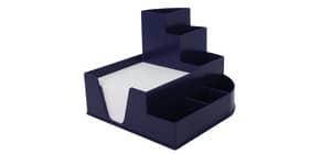 Stifteköcher +Zettelbox blau ProduktbildEinzelbildM