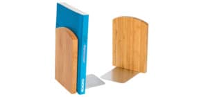 Buchstützen-Set 2tlg. Bambus Produktbild