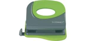 Perforatore a due fori Q-Connect fino a 20 ff grigio/verde KF00995 Immagine del prodotto