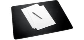 Schreibunterlage Lederimitat schwarz Produktbild