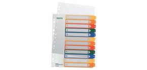 Ordnerregister 1-12 PP A4 tran Produktbild