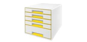 Schubladenbox WOW CUBE gelb Produktbild