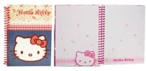 Spiralnotizbuch A5 Hello Kitty TRENDHAUS 245778 Denim Produktbild