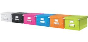 Ablagebox WOW A4 blau metallic ProduktbildStammartikelabbildungM