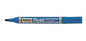 Marcatore permanente Pentel N860 punta a scalpello 4.5 mm blu N860-CE Immagine del prodotto