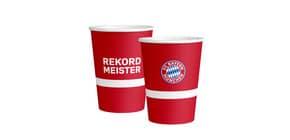 Motivbecher 6ST FC BAYERN MÜNCHEN 9906508 0,5l  Produktbild