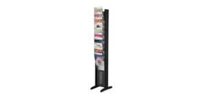 Portariviste da terra Paperflow EPI 10 scomparti A4 - nero 30x38,2x160,6 cm K502781 Immagine del prodotto