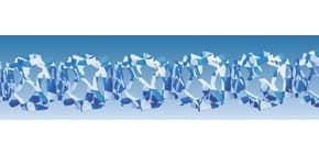 Girlande Raute weiss/blau 1796 4m 13cm breit Produktbild