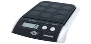 Bilancia pesalettere WEDO® Optimo 2000 elettronica nero 0482001 Immagine del prodotto