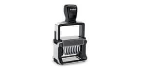 Numeratore autoinchiostrante a 10 cifre TRODAT PROFESSIONAL 55510 4.0 in acciaio nero - 120202 Immagine del prodotto