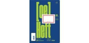 Ö-Heft A4 20 Blatt glatt +KR o.Rahmen URSUS OE OE11 060420104 Produktbild