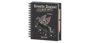 Kreativ-Kratzelbuch Pocket LOEWE 8673-0 Fantasy Produktbild