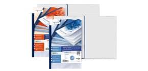 Portalistini in PP Sei Rota Uno TI - PP buccia - 120 buste A5 blu 55159907 Immagine del prodotto