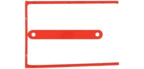 Ablagebinder D-Clip rot Produktbild