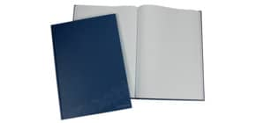 Notizbuch unliniert blau Produktbild