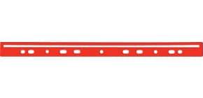 Dorso a foratura universale per stampati Q-Connect 30 cm rosso scatola da 100 - KF02284 Immagine del prodotto