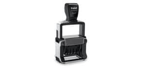 Datario autoinchiostrante con testo personalizzabile TRODAT Professional 5440 in acciaio 49x28 mm nero - 120502 Immagine del prodotto